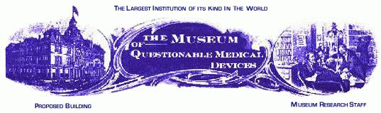 The Museum of Questionable Medical Devices Logo